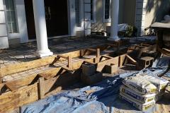 During - Home Entrance | Concrete & Masonry | Concrete Masonry Restoration | Concrete and Masonry Construction | Concrete Patios