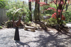 After -  Landscape | Fountains | Pondless Waterfalls | Gardens | Stone Bench | Oasis