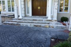 Before - Home Entrance | Concrete & Masonry | Concrete Masonry Restoration | Concrete and Masonry Construction | Concrete Patios
