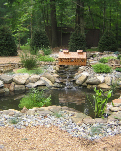 Ponds with Waterfalls   Pond Waterfall Design   Backyard Waterfalls   Ponds with Waterfalls Landscape