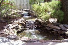 Ponds with Waterfalls | Pond Waterfall Design | Backyard Waterfalls | Ponds with Waterfalls Landscape