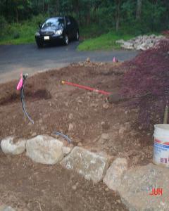 Start to Finish   Landscape Design   Stone and Paver Walkways   Landscape Construction