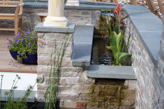 Red Bank Featured Project | Outdoor Patio Designs | Backyard Patio | Pondless Waterfall